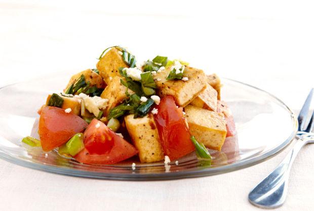 tofu tomato thai salad