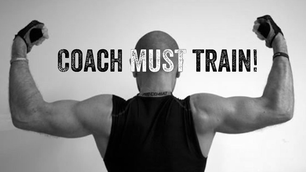 coach must train