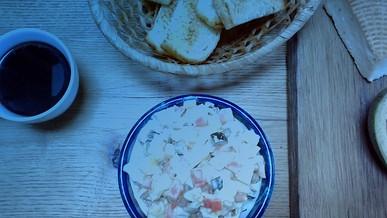 Правильное питание. Оливье с йогуртом
