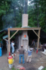 CCW Nanborigama kiln firing