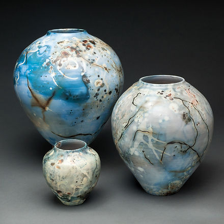 Dynamic Saggar Fired Pottery