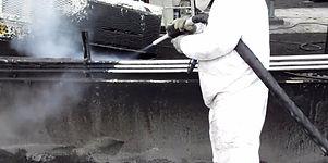Kurubuz tekniği ile cephe temizliği