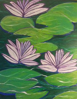 RPS Catalog_Three  Water Lilies