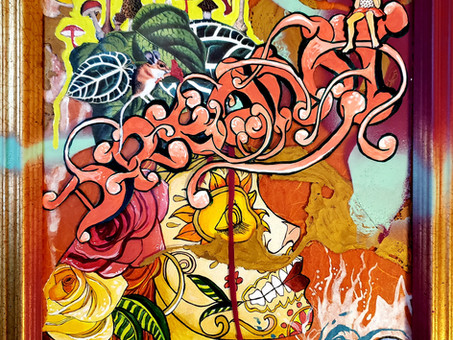 Postcards from the Pandemic VIII (Urban Art and All that is Dreamt)