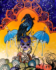 Lyrically Painted- Raven, Pisces and the Promise of Night
