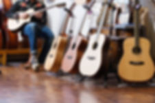 Man spielt Gitarre