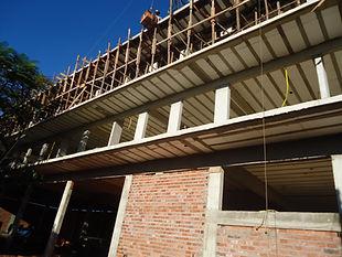 Laje treliçada em Brasília, Laje, treliça, Laje com isopor