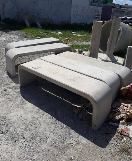 banco de concreto de parque