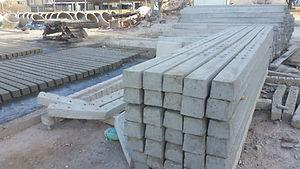 Mourão de concreto