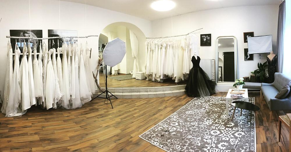V bílém, svatební studio, Znojmo