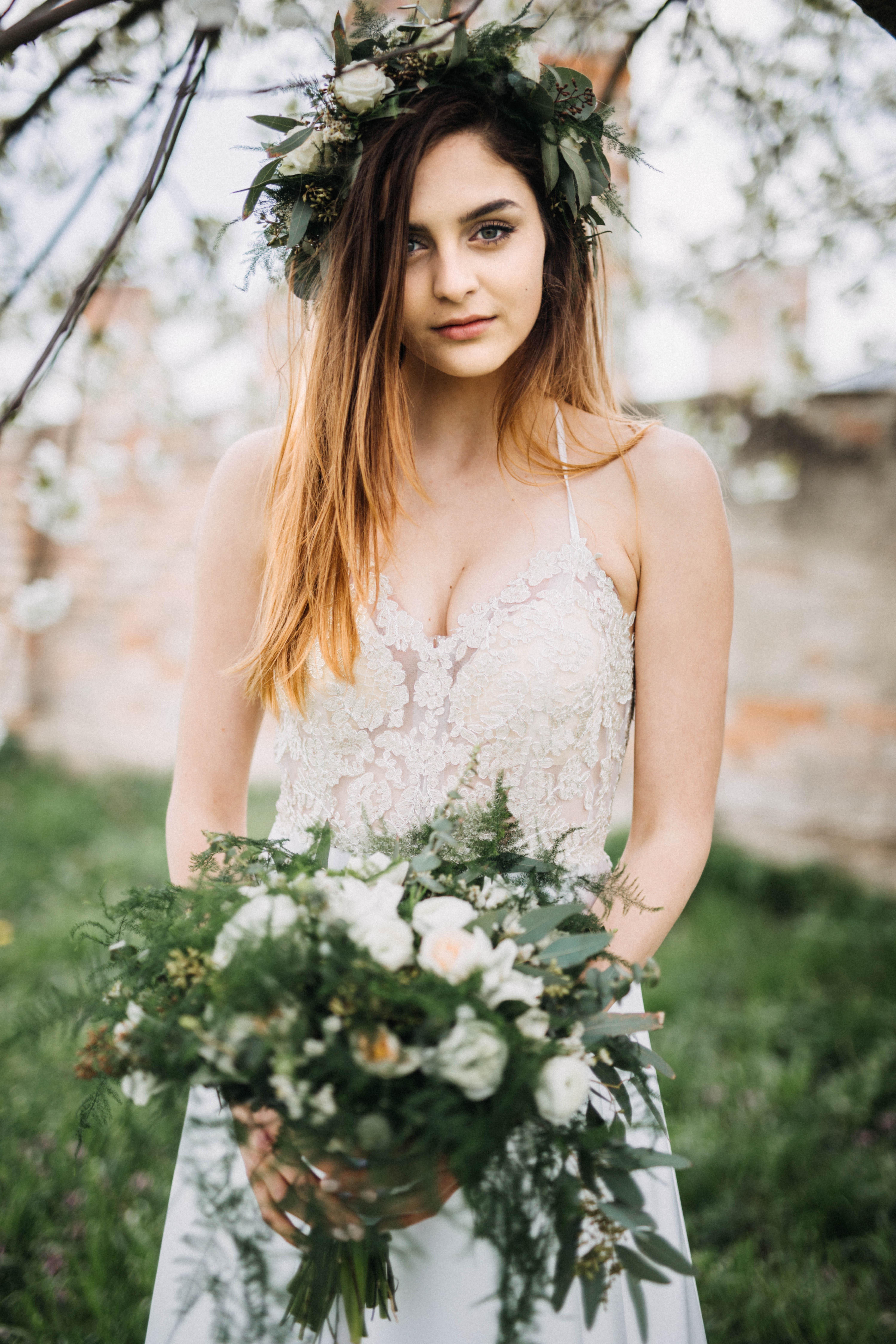 Chloe V bílém