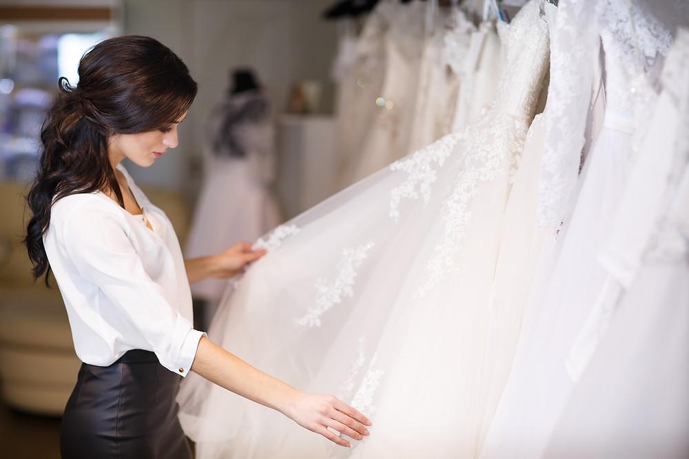 V bílém, svatební studio Znojmo