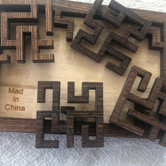 Puzzle: Mad in China