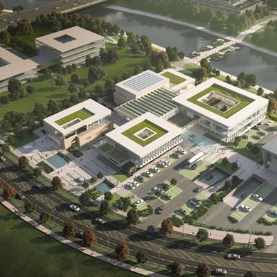 4생활권 광역복지지원센터 설계공모