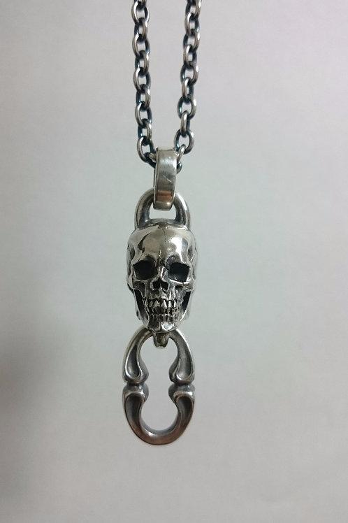 Ghana Gothic Skull Pendant
