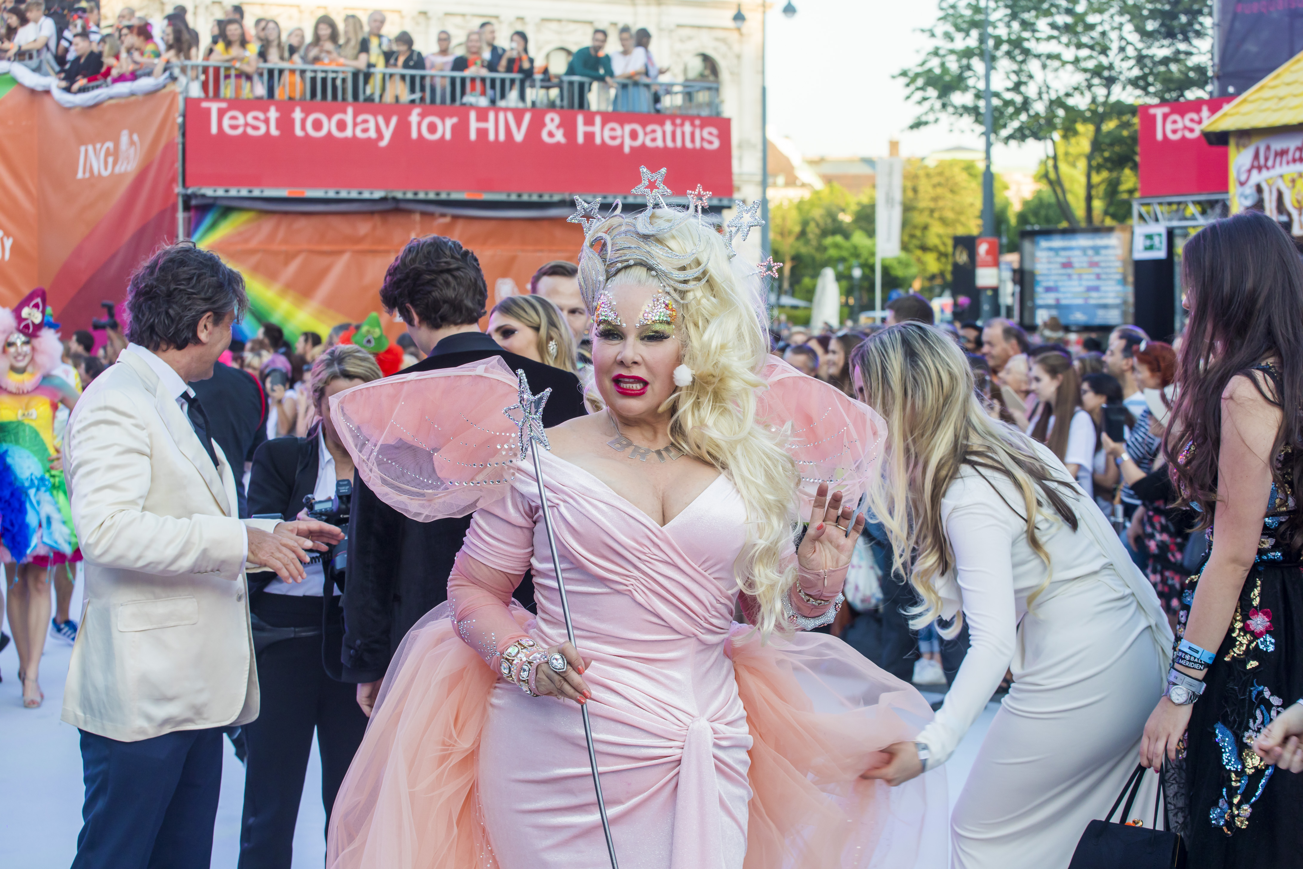 Diane Brill at Life Ball 2019