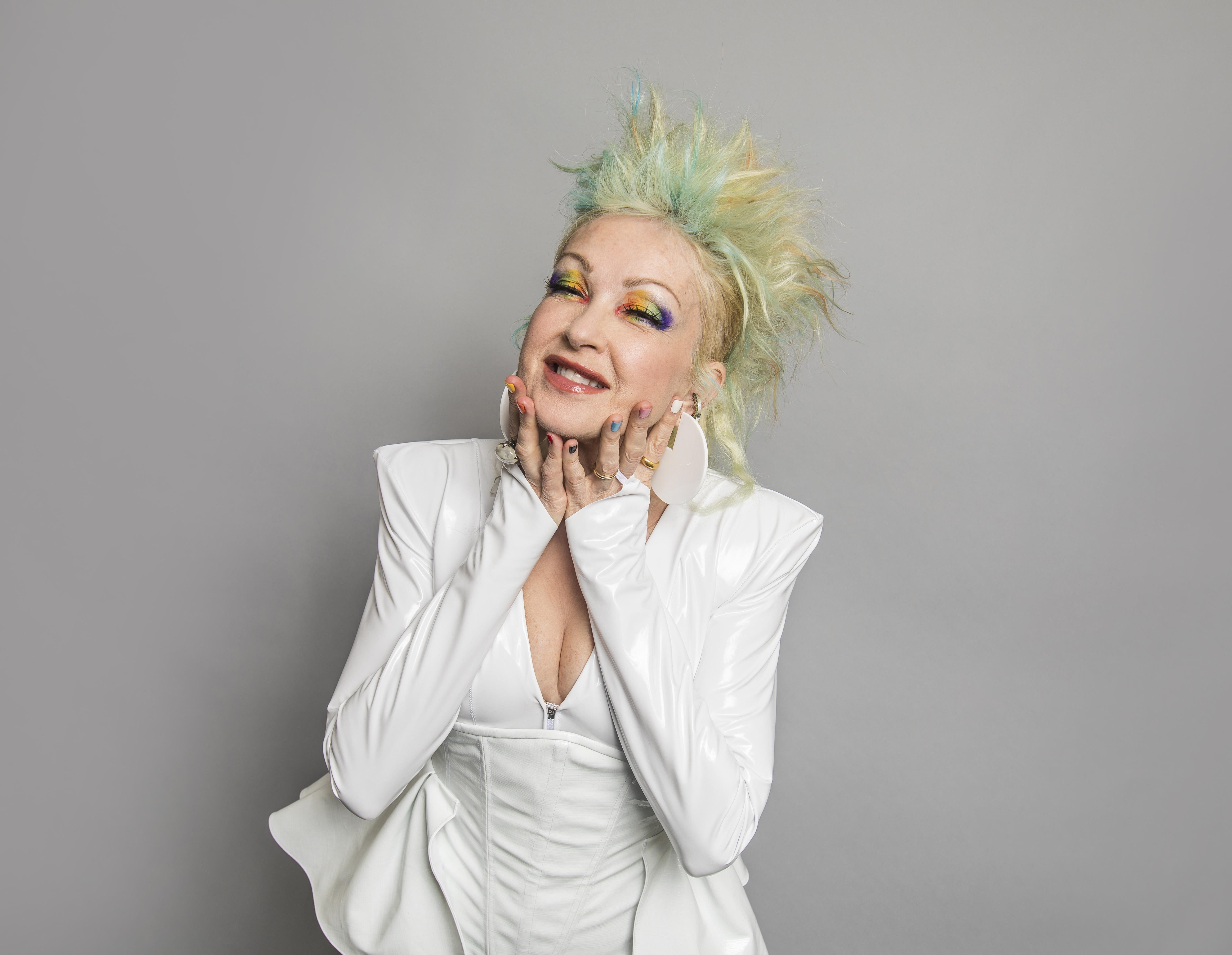 Singer Songwriter Cyndi Lauper