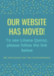 Blue and Yellow Sprinkle Moving Announce
