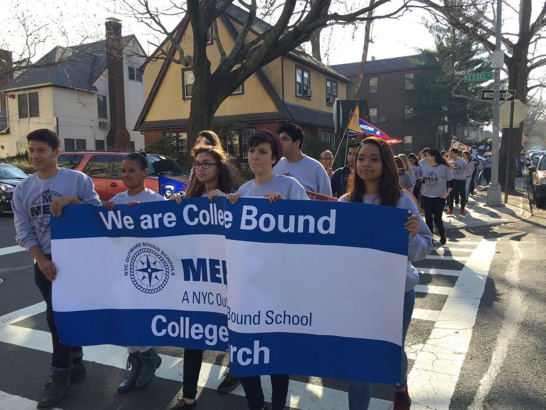 College bound march!