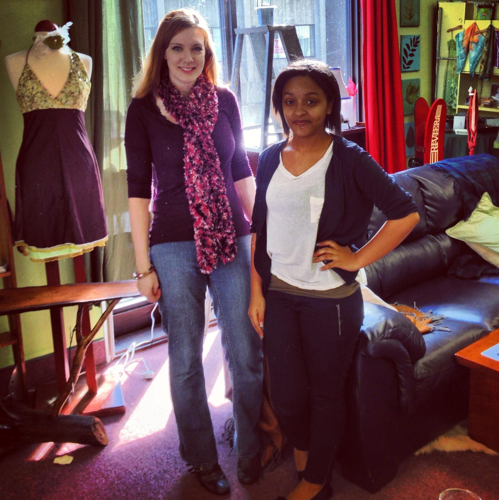 Learning academics through fashion.