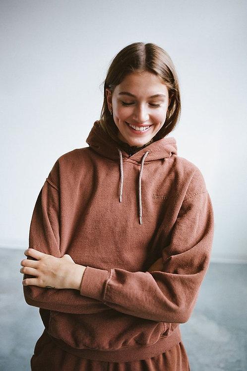 Embroidered Hoodie Sweatshirt