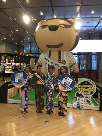 第一回大阪泉州夏祭り2017メディアキャラバンキャンペーン