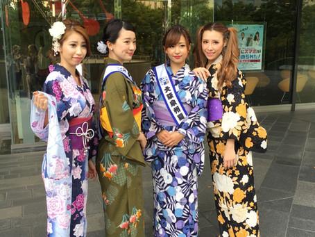 第一回 大阪泉州夏祭り2017 メディアキャラバンキャンペーン
