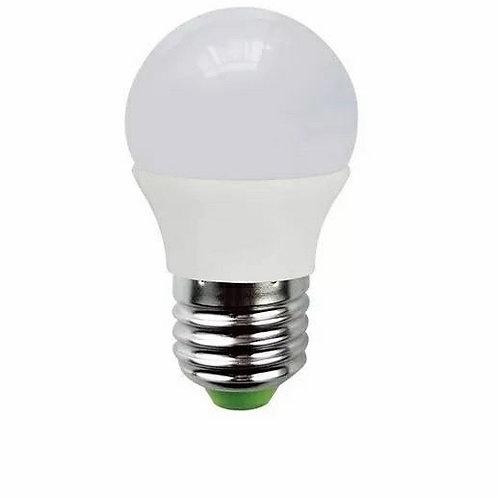 2 Lampadas Led Bolinha E27 5w Bq Bivolt