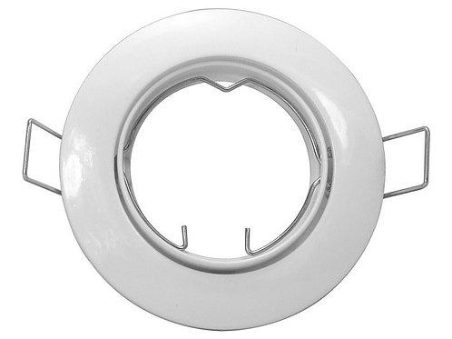 17 Spot Redondo Direcionavel P/lampadas Dicroica