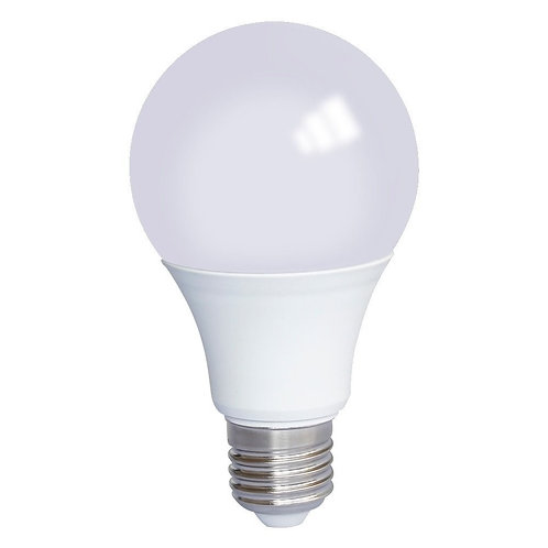 Lampada Led Bulbo Plastico E27 12w Bq Bivolt