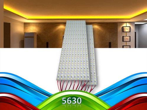 15 Barra 72 Leds 5630 Smd 1m Aluminio 18w Bq Amarelada 12v
