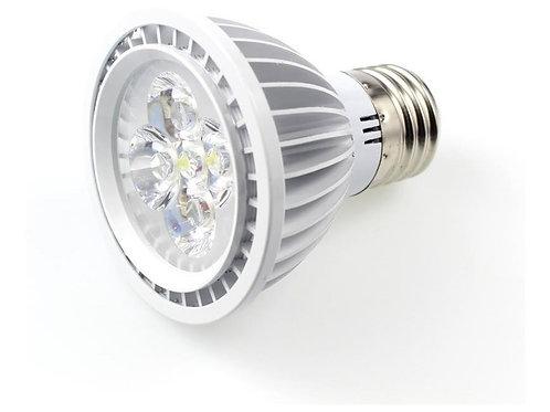 4 Lampada Par20 E27 5w Bq+ 8 Dicroica 5w Bq+ 8 Soquete Gu10