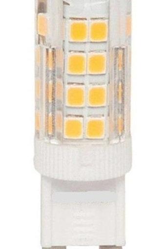 4 Lampadas Led Halopim G9 3w Bq Bivolt + 4 Soquete G9