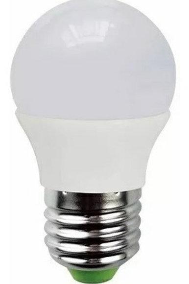 5 Lamp Bolinha E27 5w Bq Bivolt+1 Lampadas Led Bolinha 5w