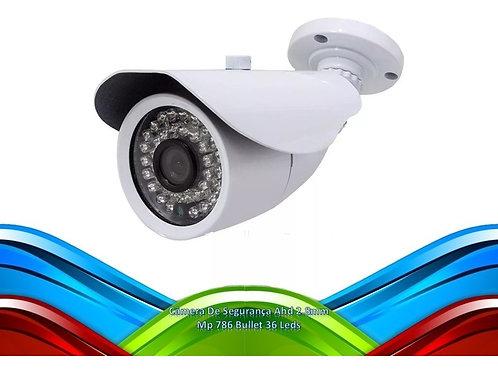 Camera De Seguranca Ahd 2.8mm Mp 786 Bullet 36 Leds