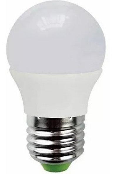 5 Lamp Led Bolinha 5w Bq + 5 Lamp Led Bolinha 5w Bf Bivolt