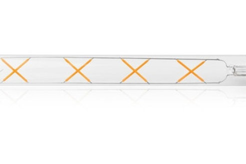 3 Lampadas Led Filamento Retro T30 20c E27 Cristal Bq 4w
