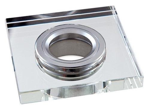 12 Spots Espelhado Led+ Lamp Dicroica 5w Bq+ Soquete Gu10