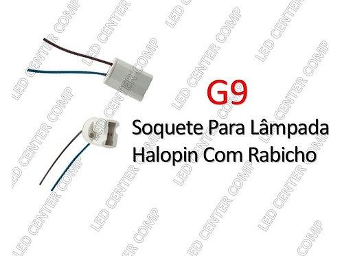 Halopin Com G9 Rabicho Soquete Para Lampada - Jf09