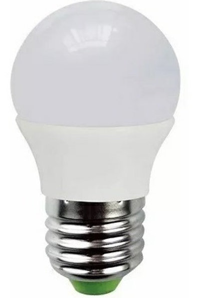 5 Lampadas Led Bolinha E27 5w Bf Bivolt