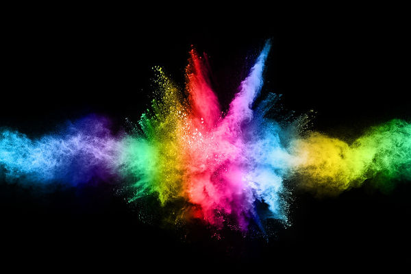 explosao-de-po-colorido-abstrato-sobre-u