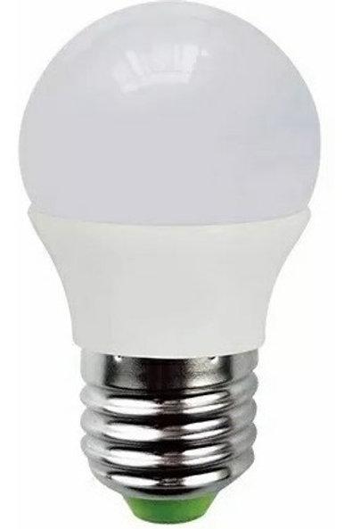 3 Lampada Led Bolinha 5w Bf + 3 Lampada Bolinha 5w E27 Bq Bv