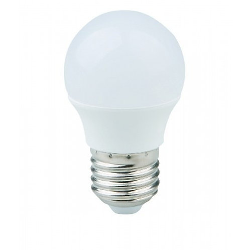 4 Lamp Led Bolinha E27 Bq 5w+ 10 Lampada Bolinha E27 Bf 5w