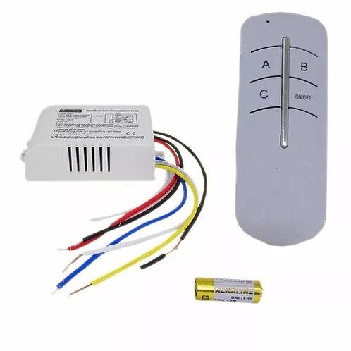 20 Interruptor S/fio Automacao Controle Remoto Led Bivolt