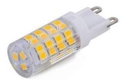 10 Lampada Led Halopim G9 5w Bq Bivolt + 10 Soquetes G9