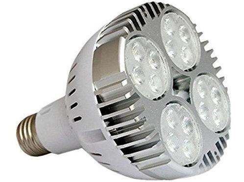 3 Lampadas Led Par30 E27 35w Bq Bivolt