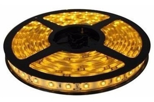 3 Fitas Led 5050 Ip65 300 Leds Amarela Ambar 12v