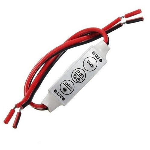 20 Dimmer Controlador P/fita Led Aumenta E Faz Piscar