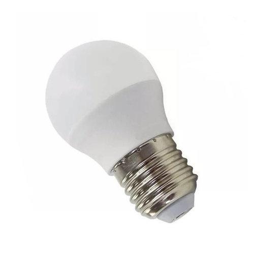 5 Lampadas Led Bolinha E27 5w Bq Bivolt+ 1 Lamp Bulbo 12w Bq