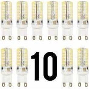 10 Lampadas Led Halopim G9 Mini Impermeavel 3w Bq Bivolt
